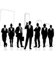 successful business team vector image