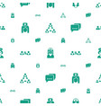 talking icons pattern seamless white background vector image vector image