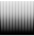 Halftone dotted background vector image vector image
