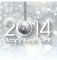 happy new year background 1111 vector image vector image