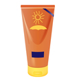 sun protection vector image