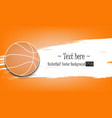1880 - basketball background vector image vector image