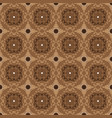 beautiful pattern for javanese traditional clothes vector image vector image