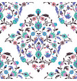 classic ottoman turkish style floral pattern vector image vector image