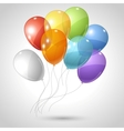 Flying balloons background vector | Price: 1 Credit (USD $1)