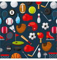 sport related icons vector image vector image