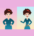before and after weight loss vector image