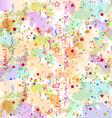 Confetti holiday background grunge colorful vector image vector image