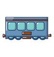 fast train icon cartoon style vector image vector image