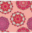 seamless pattern in eastern style print vector image vector image
