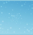 sparse glowing snow christmas background subtle f vector image vector image