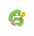 the icon of the printer vector image vector image