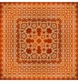 Vintage brown lacy ornate shawl pattern vector image vector image