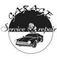 Car service logo template Automotive repair theme vector image