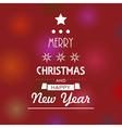 christmas tree stars 4 vector image