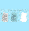 doodle set with sagittarius vector image vector image