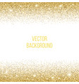 gold texture amber particles color vector image vector image