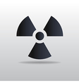 icon of Radiation vector image vector image