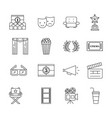 icons set art vector image vector image