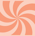 orange summer twirl background vector image