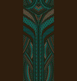 pattern in art deco style vector image vector image