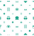 solid icons pattern seamless white background vector image vector image