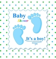 Sweet Baby Shower Card vector image vector image