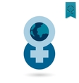 Womans Day Icon vector image
