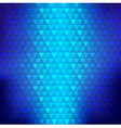 Abstract background blue continuous triangle vector image vector image