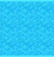 blue geometrical seamless diagonal stripe square vector image vector image