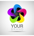 Creative Business colorful logo abstract vector image vector image