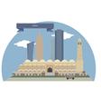 Doha vector image vector image