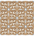 gold diamond pattern vector image vector image