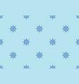 ship steering wheels nautical seamless pattern vector image