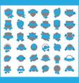 top pr marketing labels set 10 vector image vector image