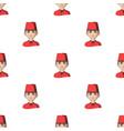 turkhuman race single icon in cartoon style vector image vector image