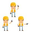 construction worker vector image