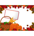 autumn leaf vector image vector image