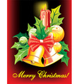 Christmas Bells Design vector image vector image