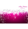 Christmas magenta abstract background vector image vector image
