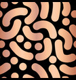 copper foil abstract handdrawn background vector image vector image