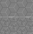 Cubic Elements Seamless Patterns vector image vector image