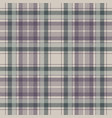 napkin check fabric texture seamless pattern vector image vector image