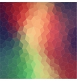 Two-dimensional geometric colorful background vector image vector image