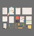 agenda list business paper clipboard