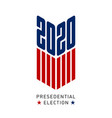 banner for united states presidential vector image vector image