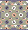 bohemian floral pattern vector image