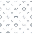 comic icons pattern seamless white background vector image vector image