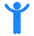 hands up child grunge icon vector image vector image