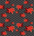Japanese pattern vector image vector image